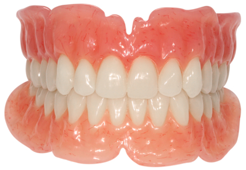 Full acrylic denture